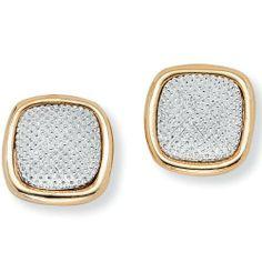 PalmBeach Jewelry Goldtone and Silvertone Button Earrings Palm Beach Jewelry. $12.99. Save 32%!