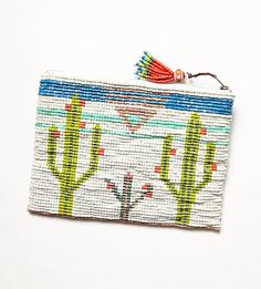 Cactus rose clutch. Free people