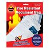 Fire resistant document bags