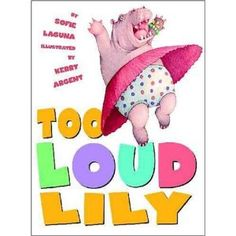 """This would be great for my own """"Too Loud Lily"""" that lives in my house."""