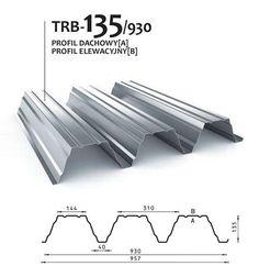 TRB-135/930 profil dachowy/elewacyjny - blachy trapezowe   BUDMAT