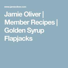 Jamie Oliver   Member Recipes   Golden Syrup Flapjacks