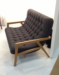 Phloem Studio is known for their timeless designs and craftsmanship that's not often found in furniture these days and the Regina Loveseat is no exception.