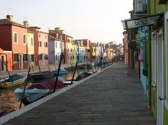 Multicoloured Cottages On Burano Art Print Cottages, Venice, Saatchi Art, Italy, Art Prints, The Originals, Digital, Artist, Photography