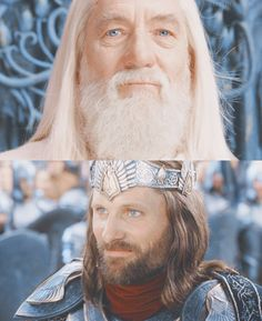 """Now come the days of the king. May they be blessed while the thrones of the Valar endure."""