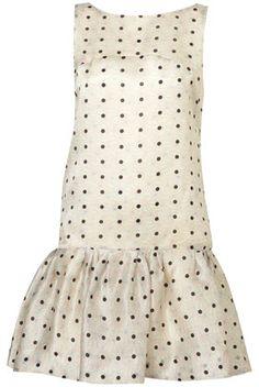 Polka dot Dress #2dayslook #sunayildirim #PolkadotDress  www.2dayslook.com