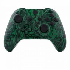 Mod Freakz ShellButton Kit Hydro Dipped Collection  Green Circuit NOT A CONTROLLER For Xbox One Gen 1 Controllers ONLY  No Headphone Jack >>> Click on the image for additional details.Note:It is affiliate link to Amazon.