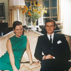 The Royal Watcher:  Crown Princess Margrethe and Prince Henrik