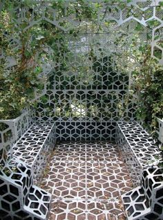 63 Awesome Perforated Metal Sheet Ideas to Decorate Your Home - What do you think of designing and decorating your home in a new way using perforated metal sheets? Perforated metal sheets are also referred to as pe... -  perforated metal sheet ideas (58) ~♥~ ...SEE More :└▶ └▶ http://www.pouted.com/85-awesome-perforated-metal-sheet-ideas-decorate-home/