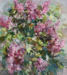 Buy Blooming lilac - 80 x 90 cm - Original oil painting, Oil painting by Anastasiya Valiulina on Artfinder. Discover thousands of other original paintings, prints, sculptures and photography from independent artists.