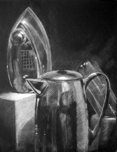 Art 1010: Drawing I: In-Class Value Still Life