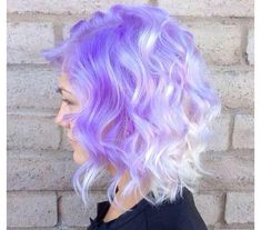Do you like how pastel hair looks? So, we have gathered some amazing photos of hairstyles in pastel shades to bring you some inspiration. Ombre Hair Color, Cool Hair Color, Two Color Hair, Lavender Hair, Bright Hair, Colorful Hair, Coloured Hair, Dye My Hair, Mermaid Hair