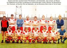 Equipos de fútbol: F. C. UTRECHT Plantilla 1970-71