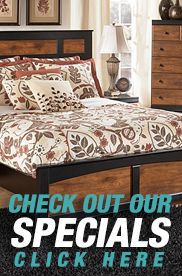 Specials Sidebar Ad With Images Furniture Modern Furniture Stores Bedroom Sets