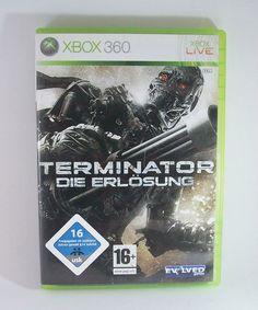 #Terminator Die #Erlösung #Microsoft #XBOX #360 #Spiel KOMPLETT mit Anleitung #XBOX360 #eBay