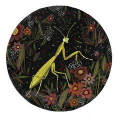 Etsy Crafts | praying mantis by beccastadtlander on Etsy | Craft Ideas