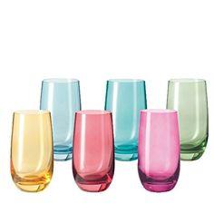 6 verres à eau