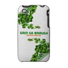 Erin Go Braugh iPhone Case