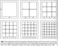 Taller 2 Diseño Gráfico FADU Cátedra Gorodischer: Retícula. Ejemplos