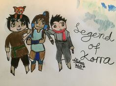Chibi Legend of Korra! Credit-Hyrulean Pikachu   I'm not entirely sure what happened to Bolin...XD