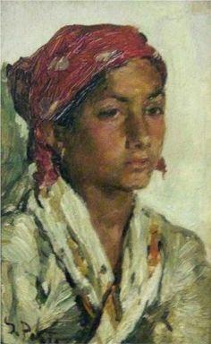 Tête de jeune fille - António de Carvalho da Silva Porto