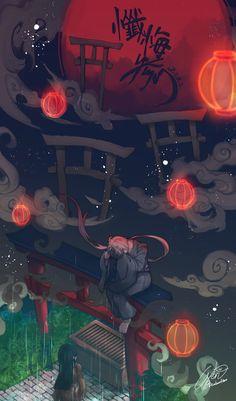 埋め込み Chica Anime Manga, Anime Guys, Satsuriku No Tenshi, Natsume Yuujinchou, Anime Dolls, Japan Art, Vocaloid, Kawaii, Cute Wallpapers