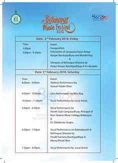 Bishnupur Music Festival 2018