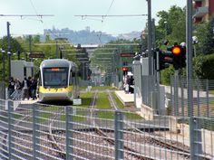 Light Rail In Bergamo - The Tram della Valli