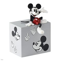 Disney Enchanting Mickey Mouse Money Bank - Every Penny Counts A24252 #FineGifts #SaversPiggyBankMoneyBox