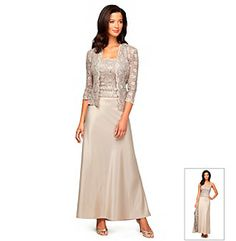 Alex Evenings® Lace Jacket Dress Set at www.younkers.com