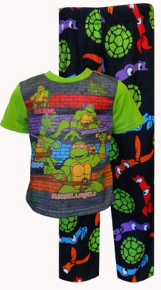 Teenage Mutant Ninja Turtle Toddler Pajama Set Wow f17ff582b