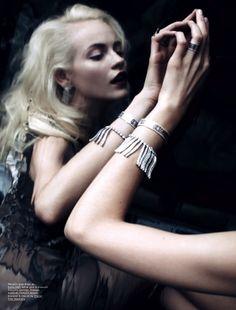 Ginta Lapina | Anthony Maule | POP Magazine S/S 2012 |'Lunatique' - 3 Sensual Fashion Editorials | Art Exhibits - Anne of Carversville Women's News