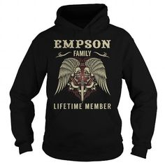 I Love EMPSON Last Name, Surname Tshirt T-Shirts