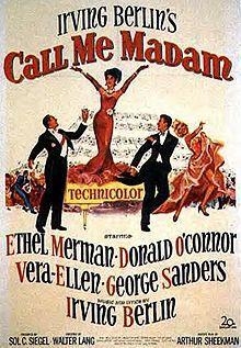 Alfred NewmanBest Musical Score1954Call Me Madam