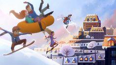 Québec s'empare de l'hiver | Cossette - Squeeze Studio Animation Cossette, Animation, Studio, Animated Gif, Behind The Scenes, Fair Grounds, Explore, Concert, Projects