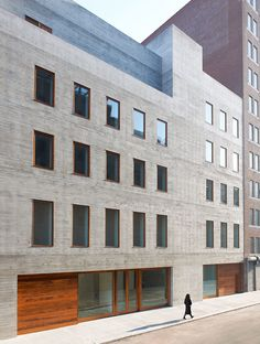 This 30,000 sf gallery for contemporary art is located in West Chelsea, a former industrial neighborhood now home to art galleries, new iconic architectural developments, and the High Line. The neighborhood's industrial heritage inspired the simplicity...