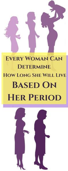 Every Woman Can Determine How Long She Will Live Based On Her Period