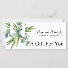 Massage Logo, Spa Massage, Spa Business Cards, Business Ideas, Massage Gift Certificate, Massage Room Decor, Business Model Canvas, Massage Therapy, Spa Therapy