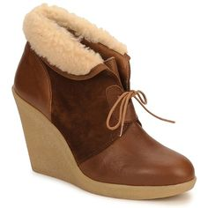 Petite Mendigote KALOU CAMEL - Free delivery with Spartoo UK ! - Shoes Shoe boots Women £ 126.00