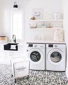 40 Stunning Laundry Room Design