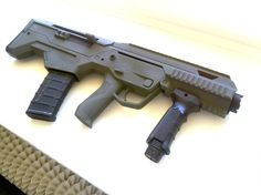 Prototype of the Polish MSBS 5,56 bullpup small arms system