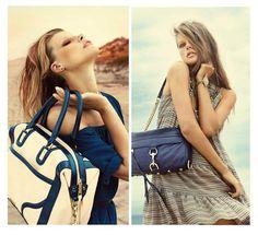 Get attractive leather embossed #handbag.