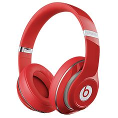 Beats® Studio 2 Wireless Over-Ear Headphones - Red