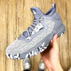 the latest 1f484 a7a71 50% Off adidas D Lillard 2 Damian Onix Grey Basketball Shoes Sneakers  B42381