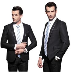 LaBeouf terno masculino men suit 2016 slim fit Business casual suit Jacket + pants americana hombre traje terno wedding suit