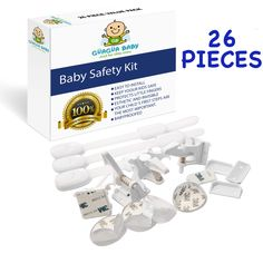 GÃœAGÃœA BABY Child Safety Cabinet Lock Set of 26 Pieces Baby Safety Set with 10 Drawer Lock 4 Cabinet Locks 12 Corner Protector with Super Strong Adhesive Baby proofing >>> You can find more details by visiting the image link. (This is an affiliate link) Safety Kit, Baby Safety, Child Safety, Lock Set, Childproofing, Adhesive, Drawer, Image Link, Corner
