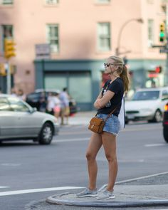STYLESEER Mini Skirts, New York, Street Style, Fashion, Moda, New York City, Urban Style, Fashion Styles, Mini Skirt