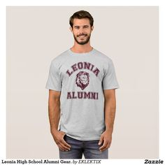 Leonia High School Alumni Gear. T-Shirt