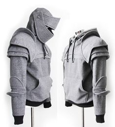 Duncan Armored Knight Hoodie100 Handmade Made To by iamknight