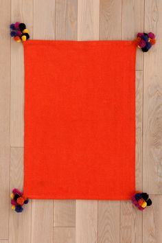 Magical Thinking Pompom Rug $34 UO